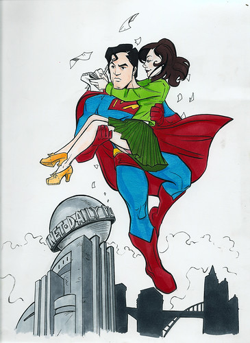 Superman and Lois - color version