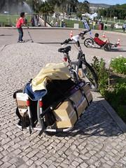 Bicicleta carregada