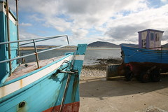 Boats at the slip, Dunaff, Donegal (greenwood100) Tags: ireland sea irish seaweed beach water rock boats seaside view stones eire atlantic lichen donegal inishowen clonmany urris poteen poitin dunaffhead sloddanport carrickatemple