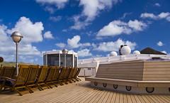 Sports deck on the Westerdam