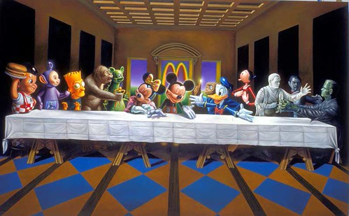 cartoons Last Supper