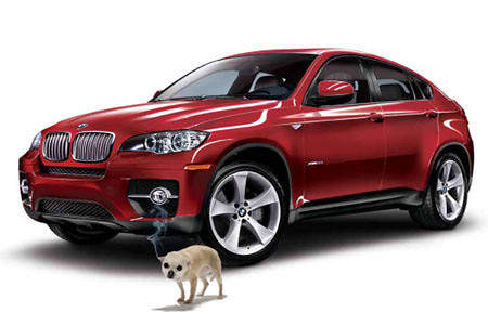 bmw canine repellant