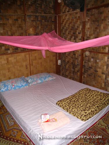 fan hut interior