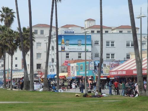 Corona Ad on Ocean Front Walk