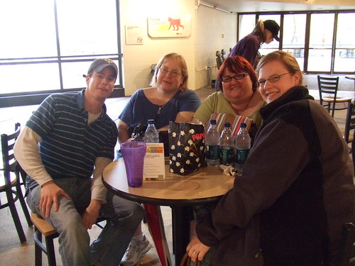 Katie, Jamie, Keem and me!