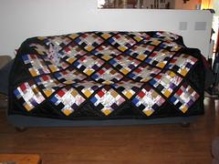 shiny quilt