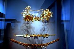 gold jewels (oriana.italy) Tags: blue berlin germany deutschland ancienthistory altesmuseum img0788 goldjewels antikensammlungberlin