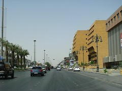 A Road in Riyadh (-Mohamed-) Tags: tower construction east saudi arabia middle riyadh ksa urbanity riyad anoud wassil
