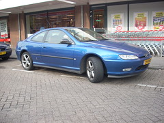 Met de Peugeot naar Bas. (alwinoll) Tags: cars 2000 autos 20 coup peugeot406 peninfarina