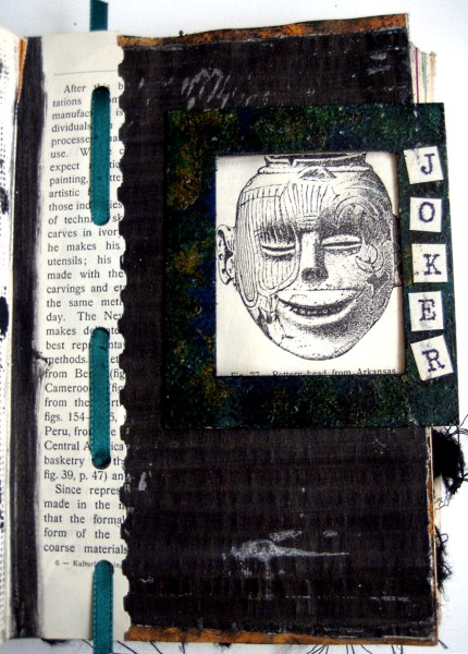 Altered book workbook:  Joker