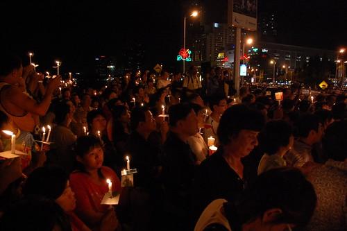 Teresa Kok candlelight vigil