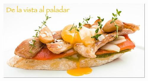 Como Cocinar El Secreto | Rebanada De Secreto Iberico Con Hortalizas Confitadas De La Vista
