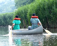 Canoeing, Sparkill Creek, Piermont NY (jag9889) Tags: ny newyork kayak kayaking hudsonriver canoeing paddling 2009 piermont rocklandcounty sparkillcreek y2009 jag9889