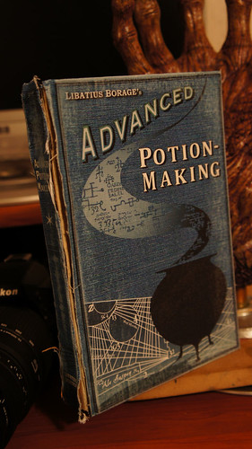 Harry Potter Advanced Potions book by groundpig.geo