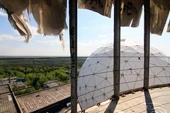 teufelsberg (Luna Park) Tags: abandoned rooftop station germany globe ruin listening fabric sphere dome spy roller lunapark nsa teufelsberg beriln