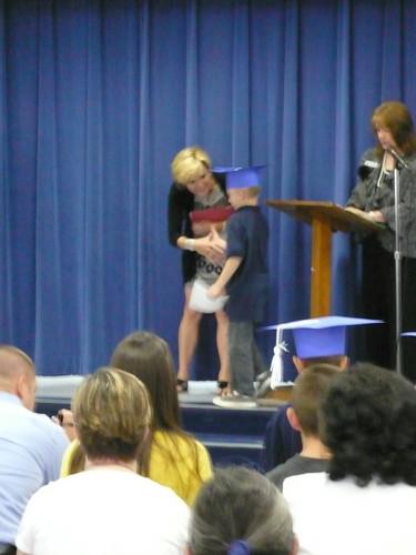 Max's Kinder graduation