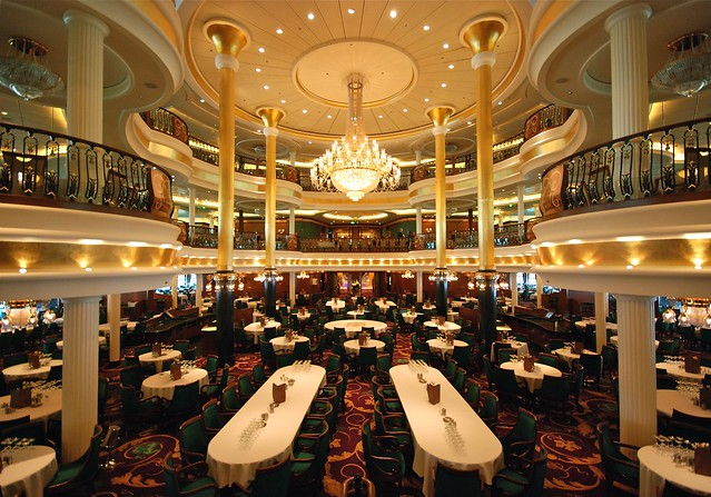 Royal Caribbean International ~ Liberty of the seas ~ Mediterranean Cruise 2011 ~ Dining Room