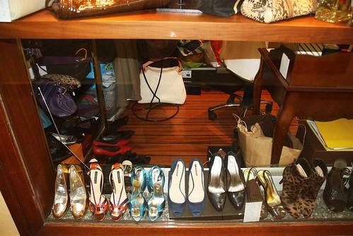 vitrine chaussures