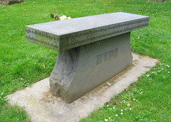 [photo of grave marker]