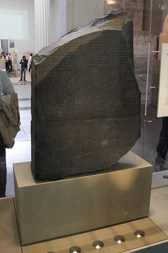 rosetta stone egyptian hieroglyphics. Rosetta Stone