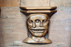 1323 WTF? (blacque_jacques) Tags: amsterdam carving mutant oudekerk misericord