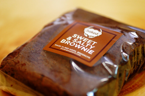 sweet and salty brownie