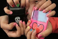 Opposites... (Julie™) Tags: music rock skull colorful julie ipod heart
