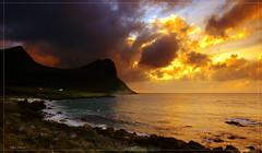 Apocalypse (steinliland) Tags: sea fire lofoten artic soe midnightsun themoulinrouge mywinners abigfave shieldofexcellence grouptripod olétusfotos lifetravel
