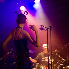 ZONG - La Maroquinerie (30 octobre 2007) (Christophe ALARY) Tags: paris concert electro zong maroquinerie sigma1770 eos400d liveelectrodub