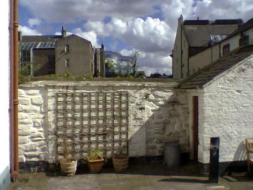 Courtyard  (Phone Wallpaper 06)