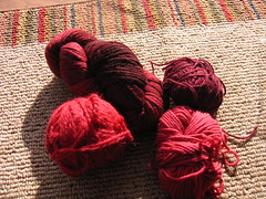 Blue Moon F.A. Red Alpaca, Wool, and Silk Blend GRAB BAG