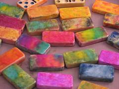2007 domino art magnet