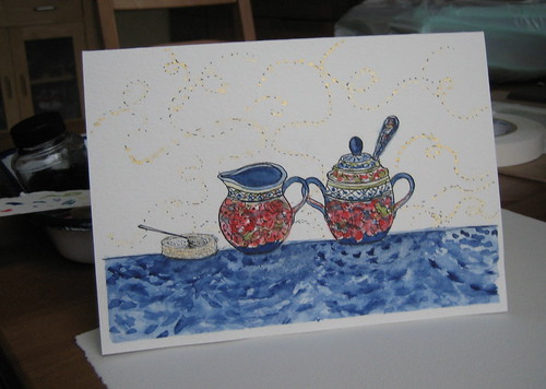 Polish Pottery Card