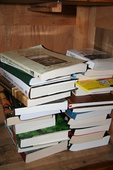 my unread book stockpile