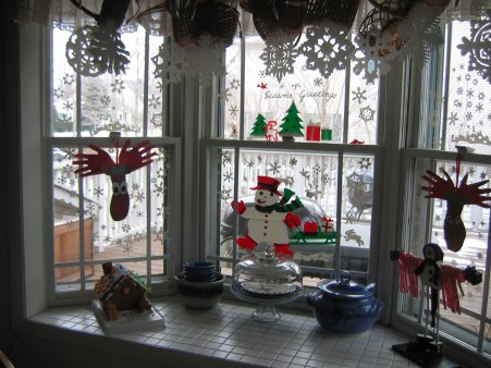 Bay Window at Christmas