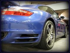 Porsche () Tags: sf auto sanfrancisco california ca city blue party car downtown stuttgart centro thecity autoshow bleu german porsche soire moscone carshow mosconecenter kalifornien sfist  saofrancisco motorvehicle  californi