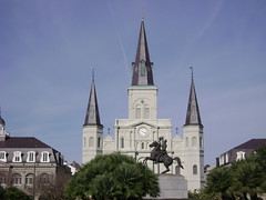 Cathedral (Francis Jayve) Tags: louisiana neworleans 2008 sugarbowl