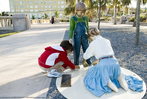 J. Seward Johnson Statues in Lakeland Florida