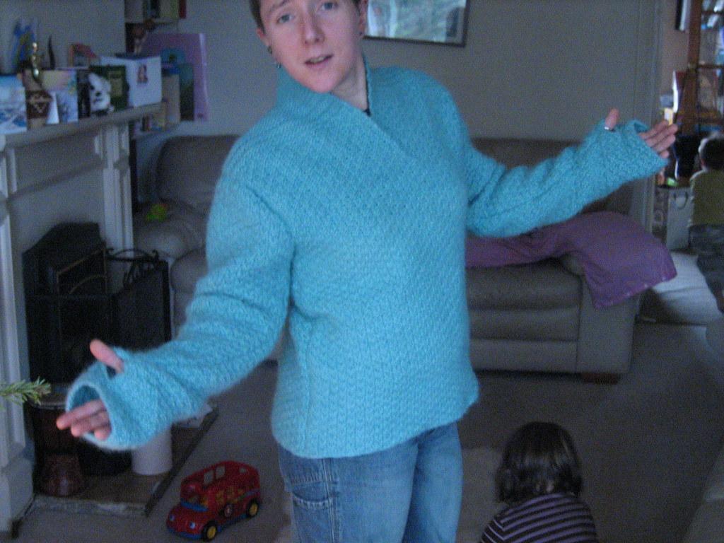 Notre Dame de Grace sweater fun