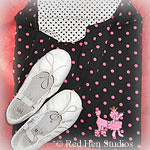 Polka Dots and Poodle Ballet Tote