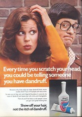 1970's Head & Shoulders Shampoo (twitchery) Tags: vintage ads shampoo 70s dandruff vintageads vintagebeauty