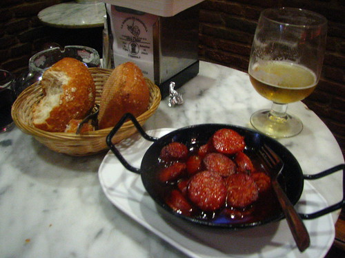 Chorizo in Red Wine - Madrid