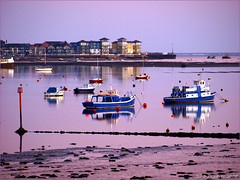 Winter evening (ExeDave) Tags: uk winter england ferry river boats evening afternoon estuary devon exmouth ferryboat exe starcross eastdevon buoyant exeestuary teignbridge anawesomeshot exmouthmarina
