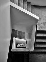 Endless Descent (Hillman Photographics) Tags: blackandwhite stairs staircase hillman endless diamondclassphotographer project366