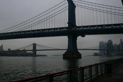 New York Feb 2008 042 (Paul D Blake) Tags: newyork bridges manhattanbridge brookylnbridge