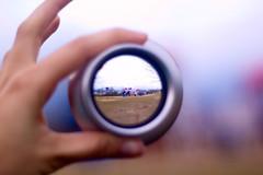 Between My Fingertips Part 1 (amritamaz) Tags: park playground d50 lens 50mm nikon hand fisheye 18