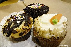 Cupcakes for Three (buncheduptv) Tags: cupcakes games buttery jonasapproved c0rkie hotmihomia