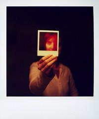 Save polaroid! Save the world! (Cea tecea) Tags: portrait me self polaroid sx70 savepolaroid savepolaroidcom