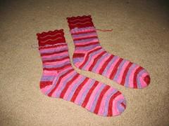 FO: Dina's Socks