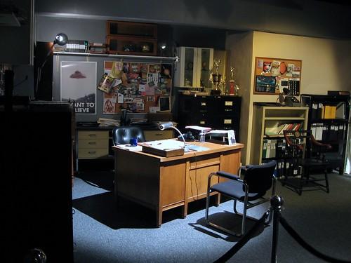 Escritório do Fox Mulder